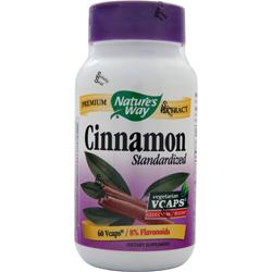 Nature's Way Cinnamon - Standardized Extract 60 vcaps