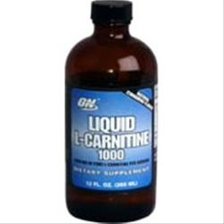 Optimum Nutrition Liquid L-Carnitine 1000 12 fl.oz