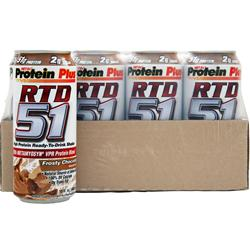 MET-RX RTD 51 Frosty Chocolate 12 cans