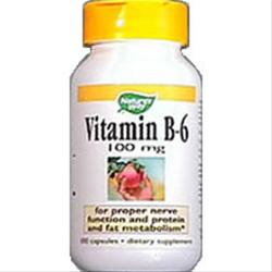 Nature's Way Vitamin B-6 (100mg) 100 caps
