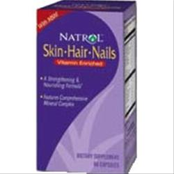 NATROL Skin-Hair-Nails 60 caps