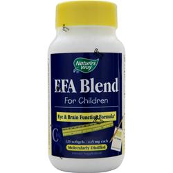 NATURE'S WAY EFA Blend for Children 120 sgels