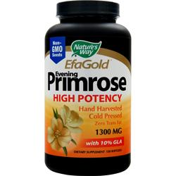 NATURE'S WAY EFA Gold Evening Primrose (1300mg) 120 sgels