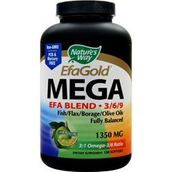 Nature's Way EFA Gold EFA Blend (1350mg) Lime 180 sgels