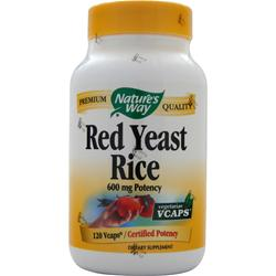 Nature's Way Red Yeast Rice 120 vcaps