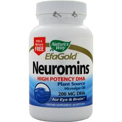 Nature's Way EFA Gold Neuromins 60 sgels