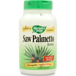 NATURE'S WAY Saw Palmetto Berries 180 caps