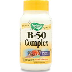 Nature's Way B-50 Complex 100 caps