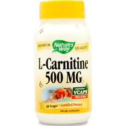 Nature's Way L-Carnitine 60 vcaps