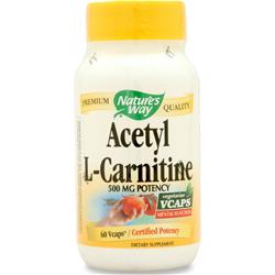 NATURE'S WAY Acetyl L-Carnitine 60 vcaps