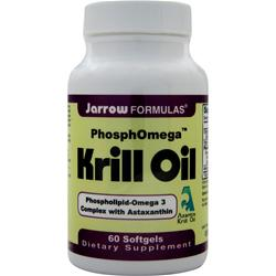 JARROW PhosphOmega Krill Oil 60 sgels