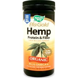 NATURE'S WAY EFA Gold Hemp Protein & Fiber Powder 16 oz