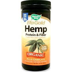 Nature's Way EFA Gold Hemp Protein & Fiber Powder 16 oz