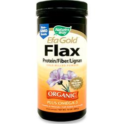 Nature's Way EFA Gold Flax (Protein/Fiber/Lignan) 16 oz