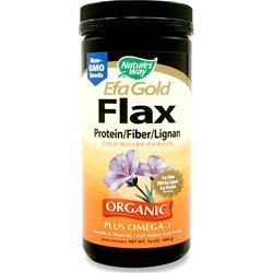 Nature's Way EFA Gold Flax (Protein/Fiber/Lignan) 16 oz