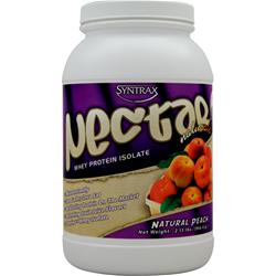 SYNTRAX Nectar Whey Protein Isolate - Natural Peach 2.13 lbs