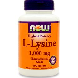 NOW L-Lysine (1000mg) 100 tabs