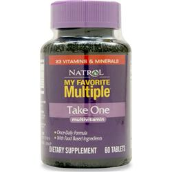NATROL My Favorite Multiple - Take One 60 tabs