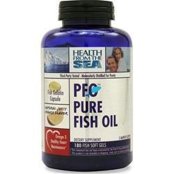 HEALTH FROM THE SEA PFO - Pure Fish Oil Orange Flavor 180 sgels