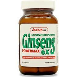 Action Labs Ginseng Powermax 6X 50 caps
