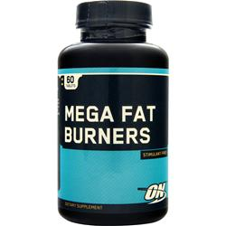 Optimum Nutrition Mega Fat Burner Tabs 60 tabs