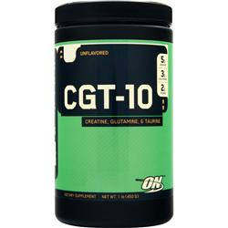 Optimum Nutrition CGT 10 - Creatine Glutamine Taurine Unflavored 454 grams