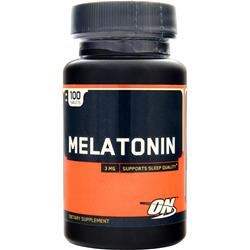 OPTIMUM NUTRITION Melatonin (3mg) 100 tabs