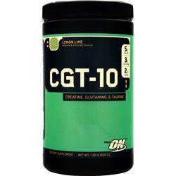 Optimum Nutrition CGT 10 - Creatine Glutamine Taurine Lemon Lime 600 grams