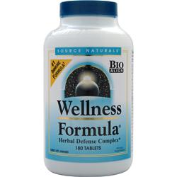 Source Naturals Wellness Formula California Version 180 tabs