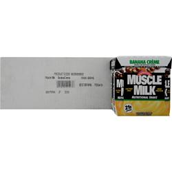 CYTOSPORT Muscle Milk RTD Banana Creme (11 fl.oz.) 24 cans