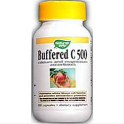 NATURE'S WAY Buffered C-500 Mineral Ascorbates 100 caps