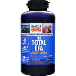 HEALTH FROM THE SUN Total EFA Double Action 180 sgels