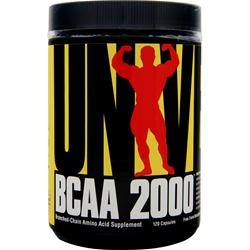 Universal Nutrition BCAA 2000 120 caps