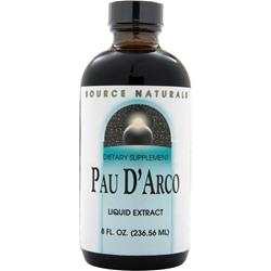 SOURCE NATURALS Pau D'Arco Liquid Extract 8 fl.oz