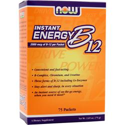 Now Instant Energy B12 75 pckts
