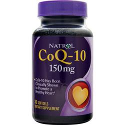 NATROL Coenzyme Q-10 (150mg) 30 sgels