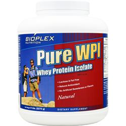 BIOPLEX NUTRITION Pure WPI - Whey Protein Isolate Natural 5 lbs