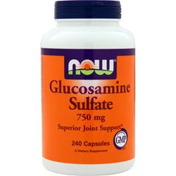 NOW Glucosamine Sulfate (750mg) 240 caps