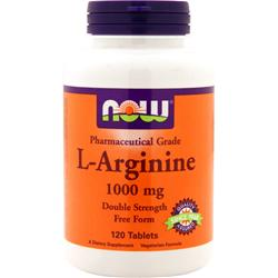 NOW L-Arginine (1000mg) 120 tabs