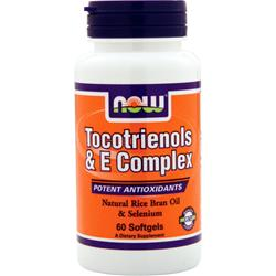 Now Tocotrienols & E Complex 60 sgels