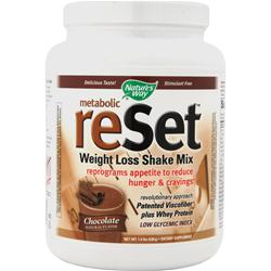 NATURE'S WAY Reset - Weight Loss Shake Mix Chocolate 1.4 lbs