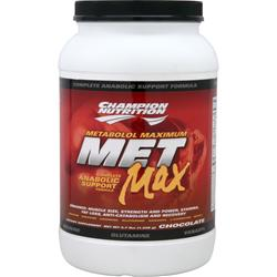 CHAMPION NUTRITION MET Max Chocolate 2.7 lbs
