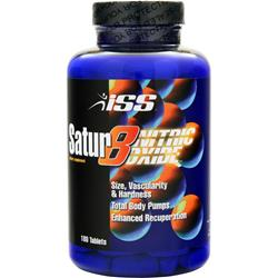 ISS Research Satur8 Nitric Oxide 180 tabs