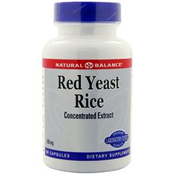 NATURAL BALANCE Red Yeast Rice 60 caps