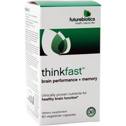 FUTUREBIOTICS ThinkFast - Brain Performance plus Memory 60 vcaps