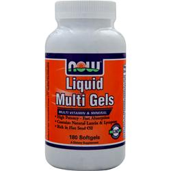 NOW Liquid Multi Gels 180 sgels