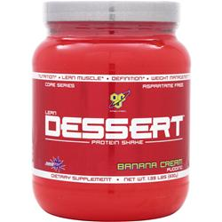 BSN Lean Dessert Protein Banana Cream Pudding 1.39 lbs