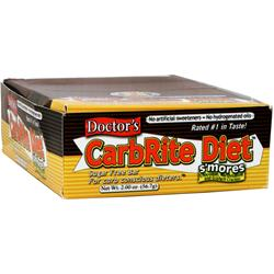 Universal Nutrition Doctor's Diet CarbRite Bar S'mores 12 bars