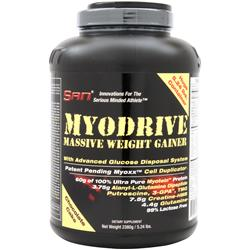 SAN Myodrive - Massive Weight Gainer Chocolate Cake 5.24 lbs