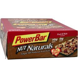 PowerBar Nut Naturals Bar Fruit & Nuts 15 bars